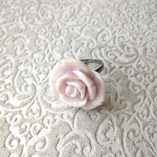 (FREE DELIVERY) Lilac purple rose ring