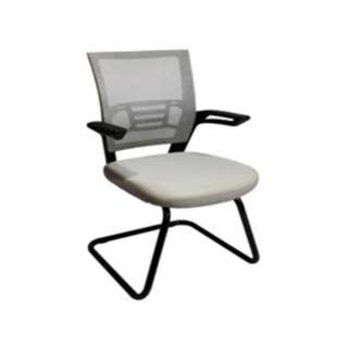 Santos - Visitor Chair - Mesh Backrest - Office Chairs