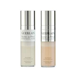 Guerlain Blanc De Perle White P.E.A.R.L. Whitening Day & Night Treatment 2 x 0.5 oz/2 x 15ml