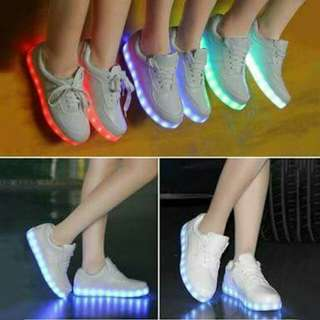 Unisex Led Shoes for Kids and Adult (rechargable)