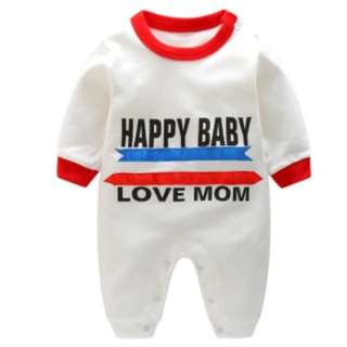 "Baby romper ""Happy Baby"""