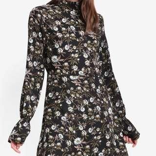 Long Sleeve Dress Floral Women