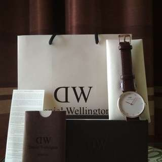 Dw watch bristol crystal