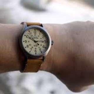 Timex expedition watch scout version tan leather rolex explorer submariner army watch gmt master vintage seiko casio g shock luminox