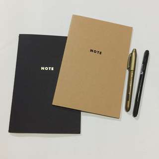 >NOTE Slim Notebook | A5, set of 2