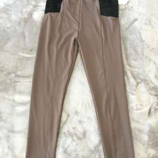 Nude color pants