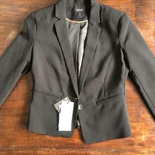 Bershka black blazer