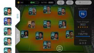 PES 2018(mobile) accounts