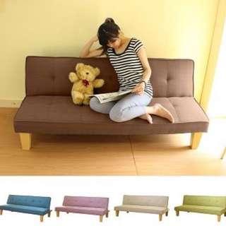 紅色沙發床  9成新 需自取 高雄市