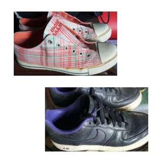 Take all!! Nike air and world balance size 7. Free shipping