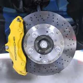 Car Caliper spray painting