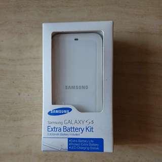 原裝 Samsung GALAXY S5 叉電盒及電池