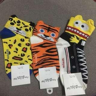Ggorangnae cute cartoon socks