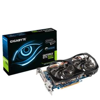 2GB DDR5 GTX 650 Ti Boost GPU