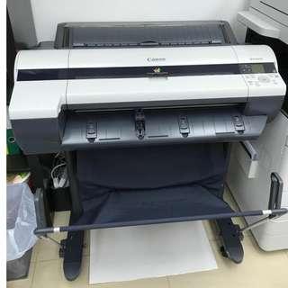 Canon iPF650 大幅面打印系統 A1 Large Format Printer