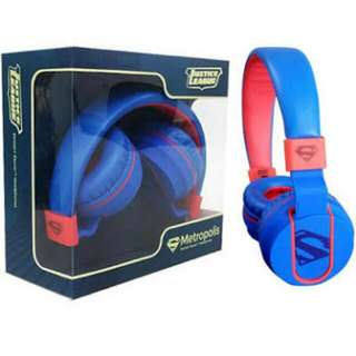 Ekotek Ekonic Justice League Headphones Metropolis