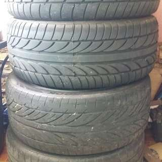 Rim 17 advan rz with tyre