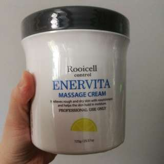 Rooicell Enervita Massage cream 725g