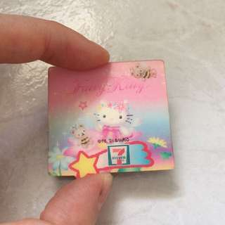 Sanrio hello kitty limited edition rare magnet 7-11 2000 fairy