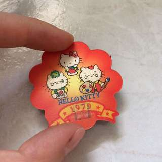 Sanrio hello kitty limited edition rare magnet 7-11 1979 Painters