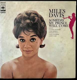 【Vinyl Record】Miles Davis Saxtet with John Coltrane, etc - Someday My Prince Will Come