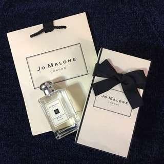 11/2買英國直送full set Jo Malone杏桃花與蜂蜜香水100ml