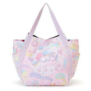Japan Sanrio Little Twin Stars Print Tote Bag (Unicorn)