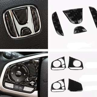 HONDA CIVIC FC CRV STEERING CARBON