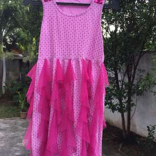 pink dress for 10 yearsl old