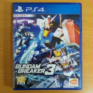 🚚 PS4-鋼彈破壞著3 中文完整版