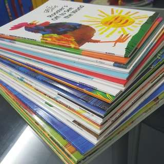 Set Of 6 or 10 Famous Award Winning Picture Books Paperback Eric Carle Giving Tree Dr Seuss