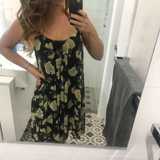 Floral swing dress (sportsgirl)
