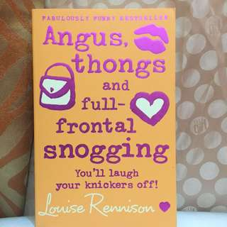 Angus, Thongs, and Full-frontal Snoggling