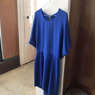 Minimal Blue dress - Saba