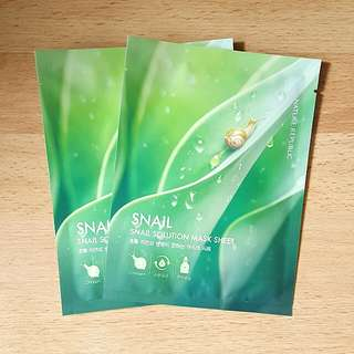 Snail Solution Mask Sheet Nature Republic