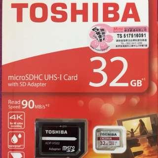 Toshiba 32gb SD Card