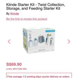 Kiinde Twist Breastfeeding starter kit