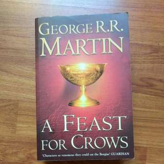 A Feast For Crows Game of Thrones book by George R. R. Martin