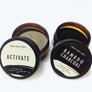 BAMBOO AND ACTIVATED CHARCOAL