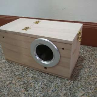 Nestbox / Breeding Box for Lovebirds, Budgies and other small birds [INSTOCK]