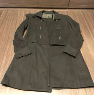 Izzue 黑色褸 black coat
