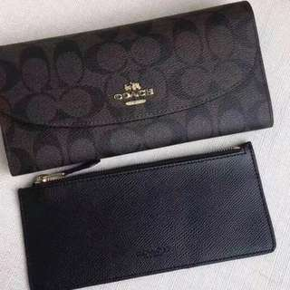 👸👸👸FOR HER!!! 100% Original Coach Ladies Long Wallet / Purse 👛 ALL READY STOCK (Part I)