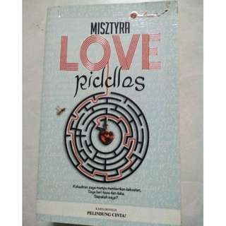 NOVEL : LOVE RIDDLES