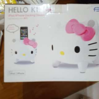 Hello kitty iPhone docking station