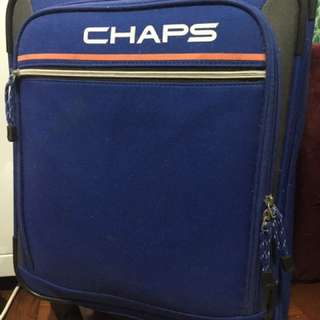 Polo Chaps Blue Luggage