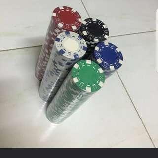 Poker chips (50pc per bundle)