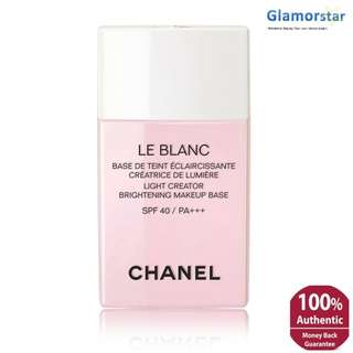 CHANEL LE BLANC LIGHT CREATOR BRIGHTENING MAKEUP BASE SPF40/PA+++ #40 ORCHIDEE