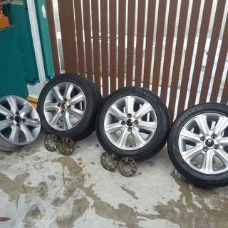 "Sportrim 15"" honda city 2007"