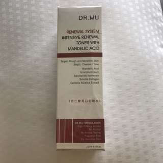 Dr Wu Intensive Renewal Toner with Mandelic Acid