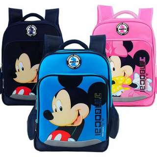 Mickey And Minnie Bagpack
